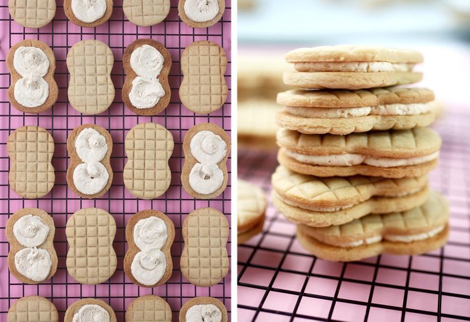Peanut Butter Cookie Sandwiches