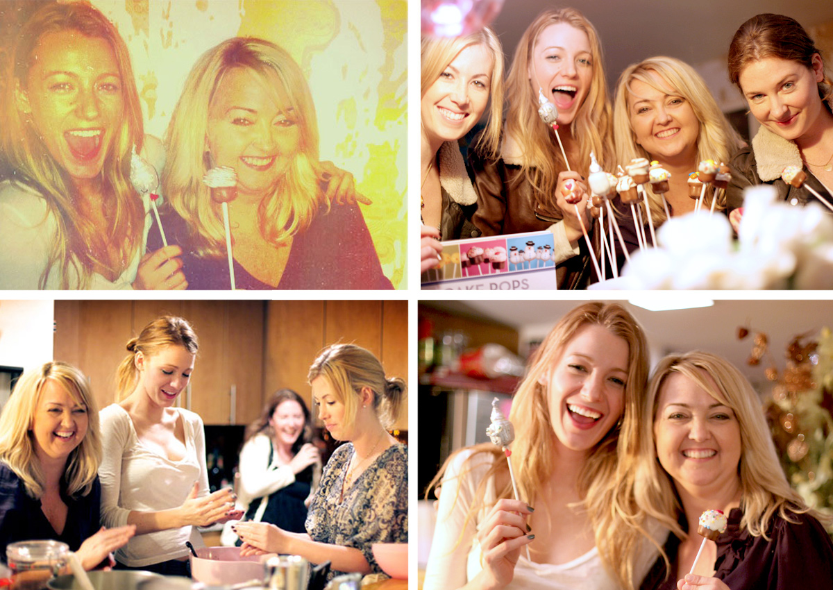Baking with Blake Lively
