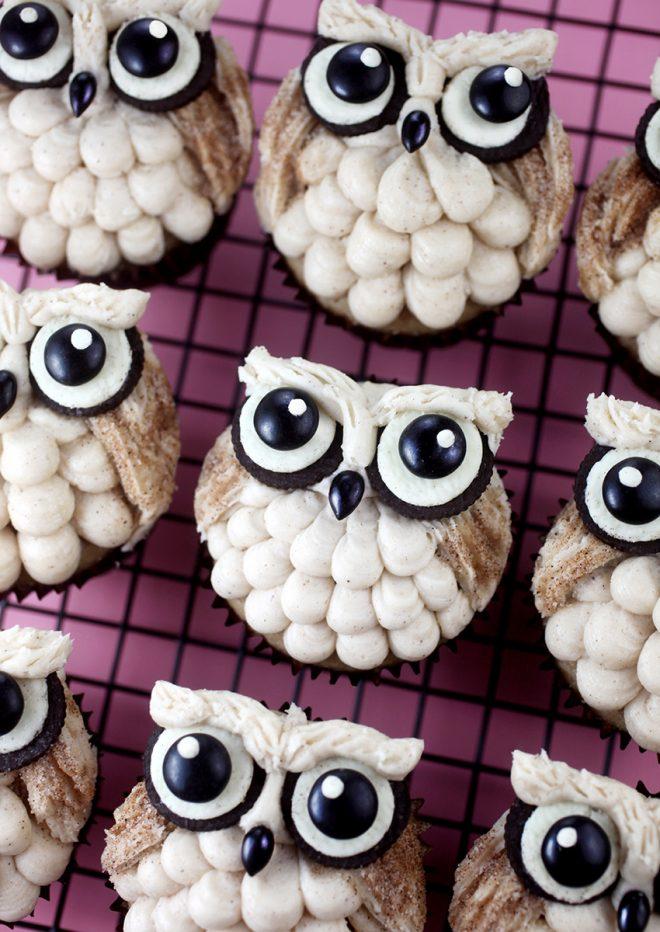 Easy Owl Cupcakes Bakerella Com