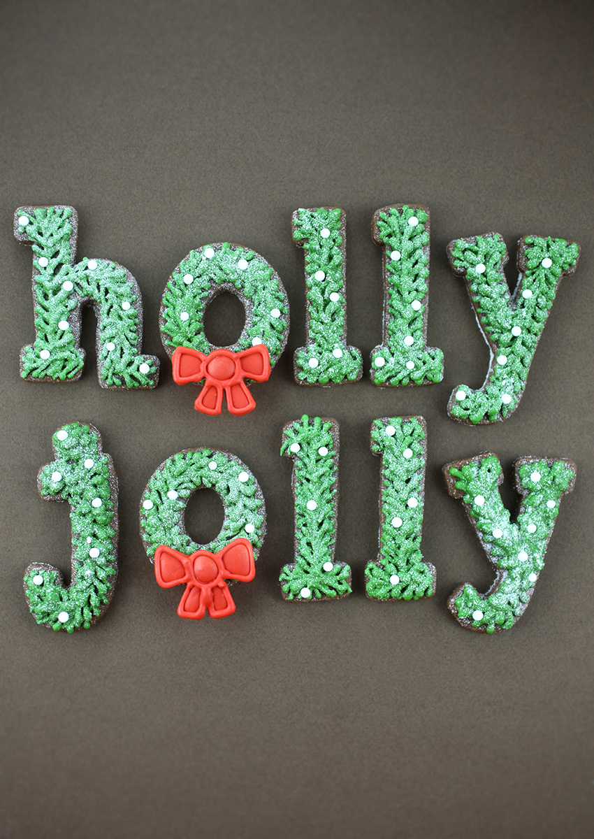 Holly Jolly Sugar Cookies
