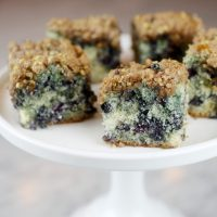Wild Blueberry Buckle Coffee Cake – bakerella.com