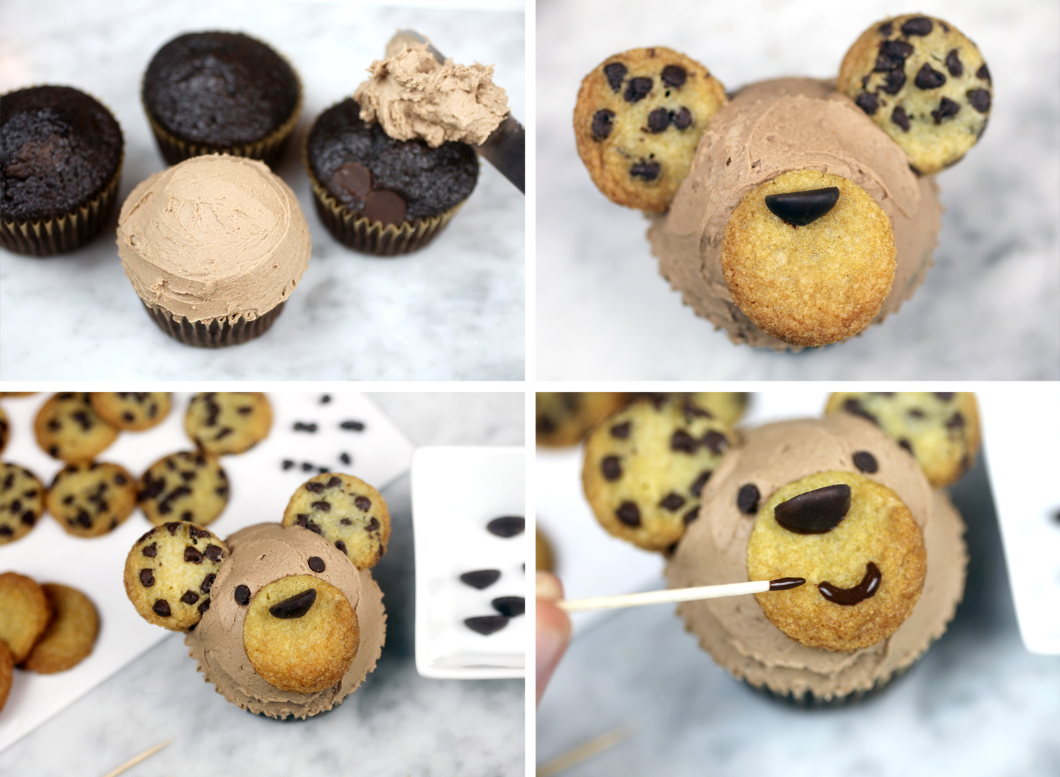 Chocolate Chip Cubcakes
