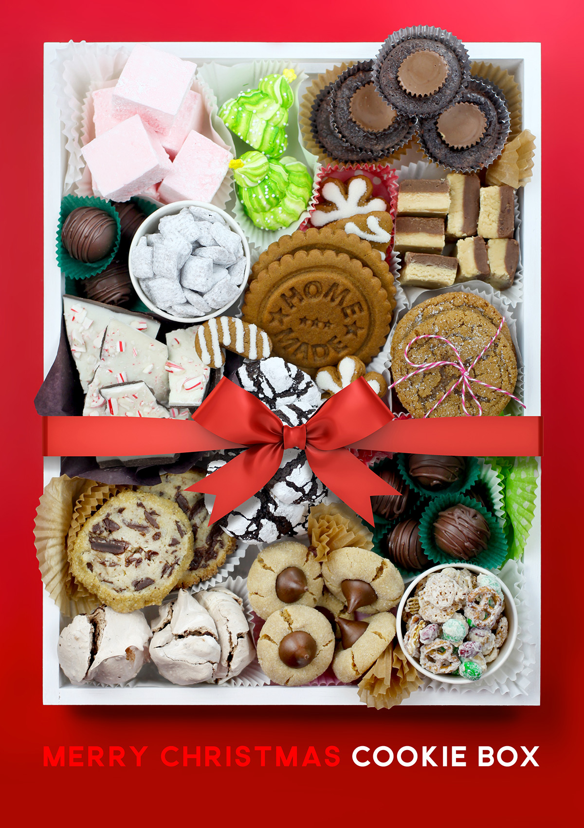 Merry Christmas Cookie Boxes