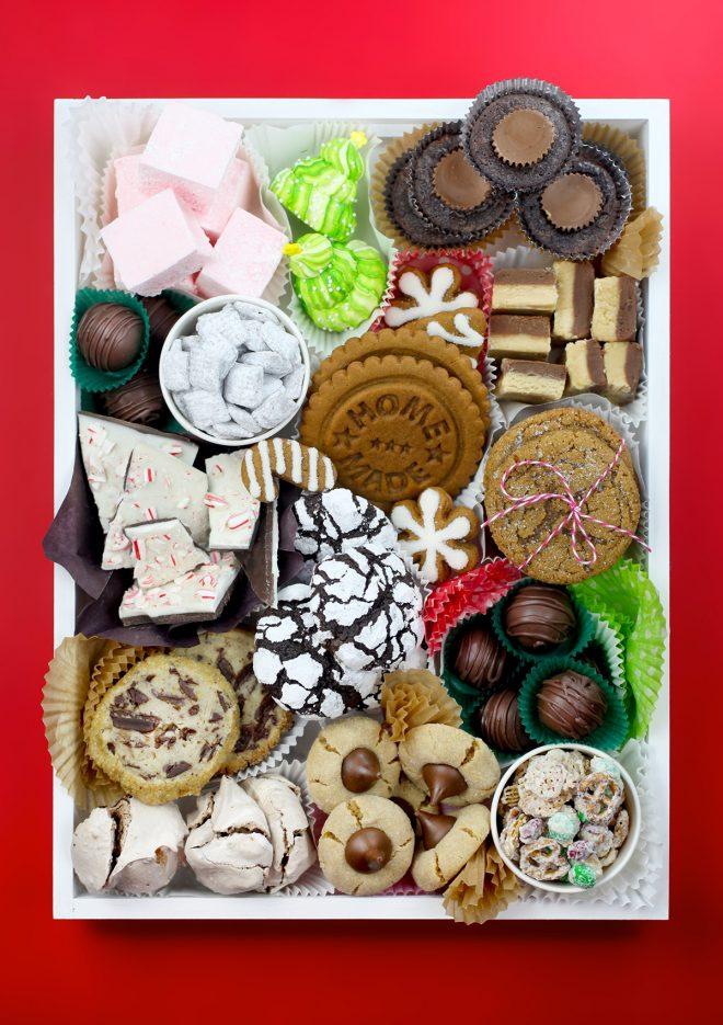 Merry Christmas Cookie Boxes Bakerella Com