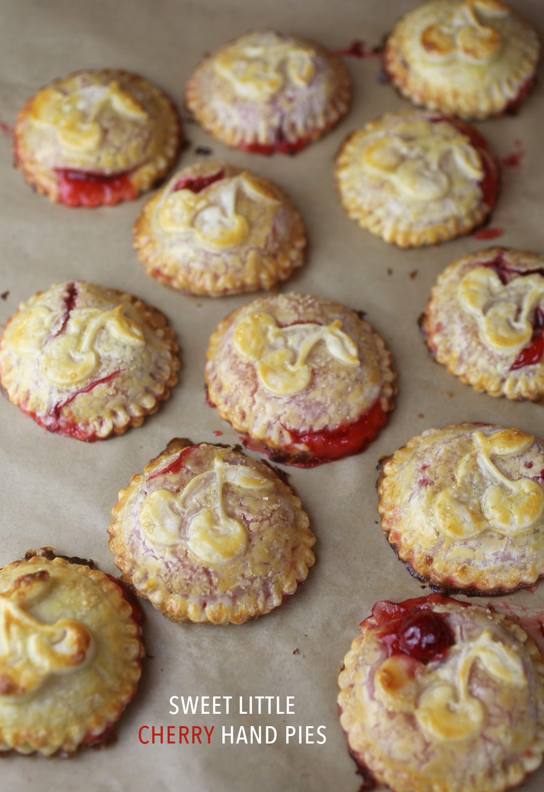 Sweet Little Cherry Hand Pies