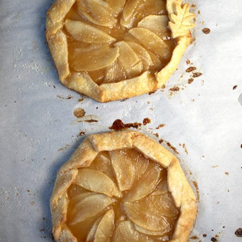 Butterscotch Apple Mini Galettes