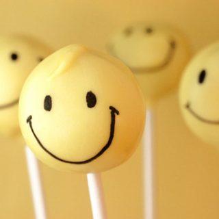 Smiley Face Cake Pops