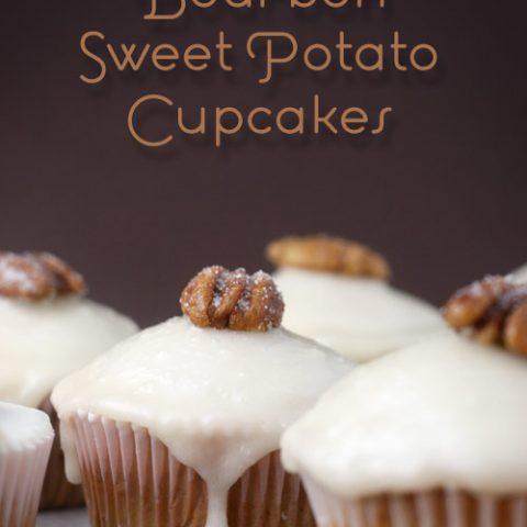 Bourbon Sweet Potato Cupcakes