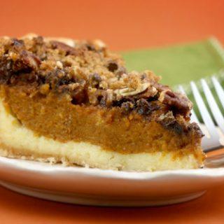 Pumpkin Pecan Cream Cheese Pie