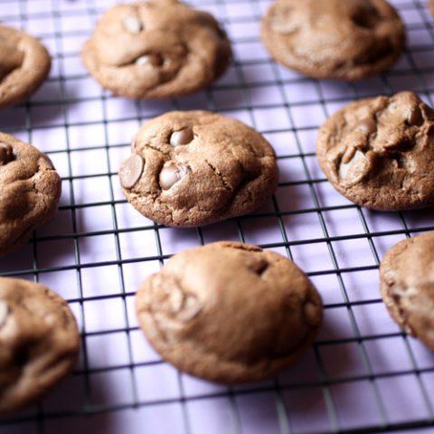 Dark Chocolate Chip Comfort Cookies