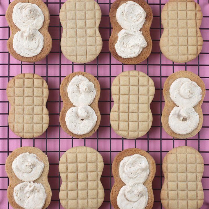 Bravetart's Homemade Nutter Butter® Cookies