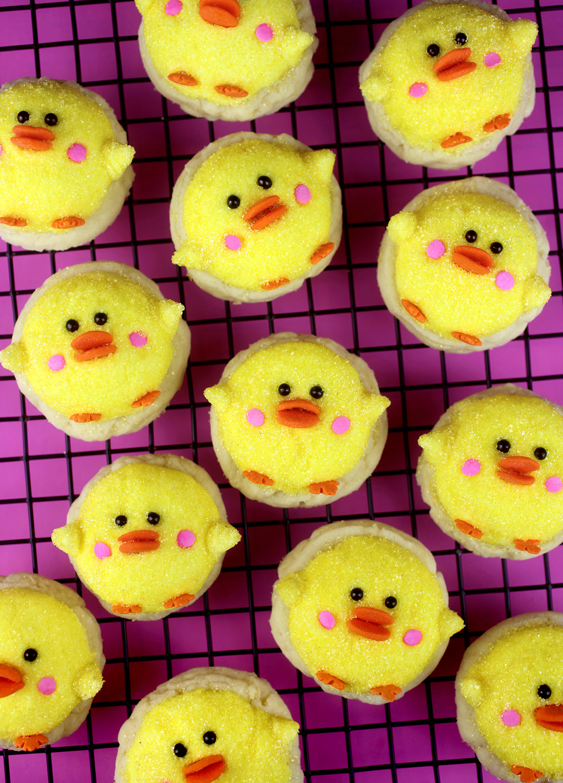 Darling Duckling Sugar Cookies