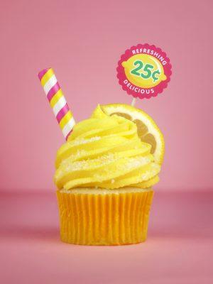 Lemonade Cupcake