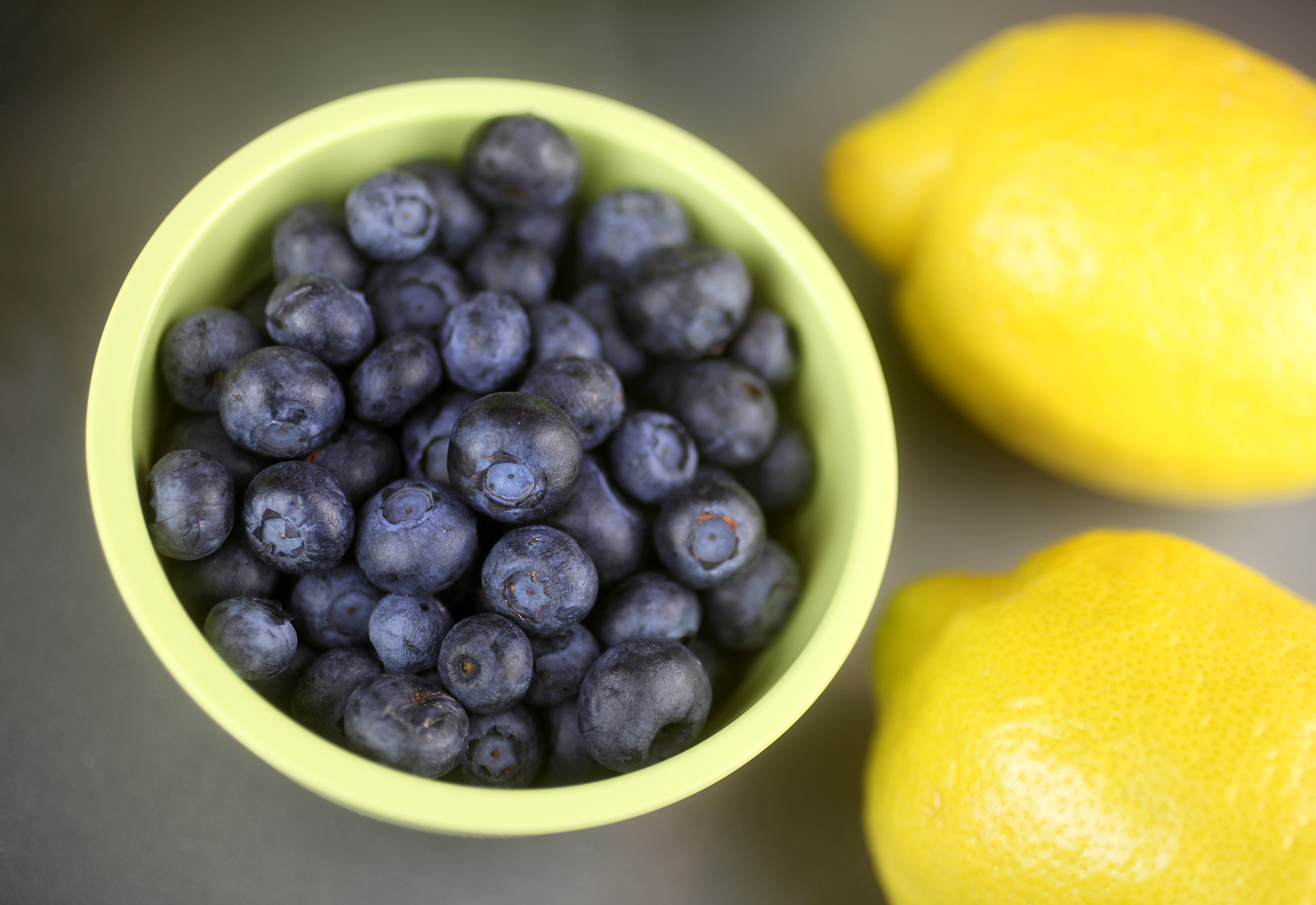 Lemon and Blueberries