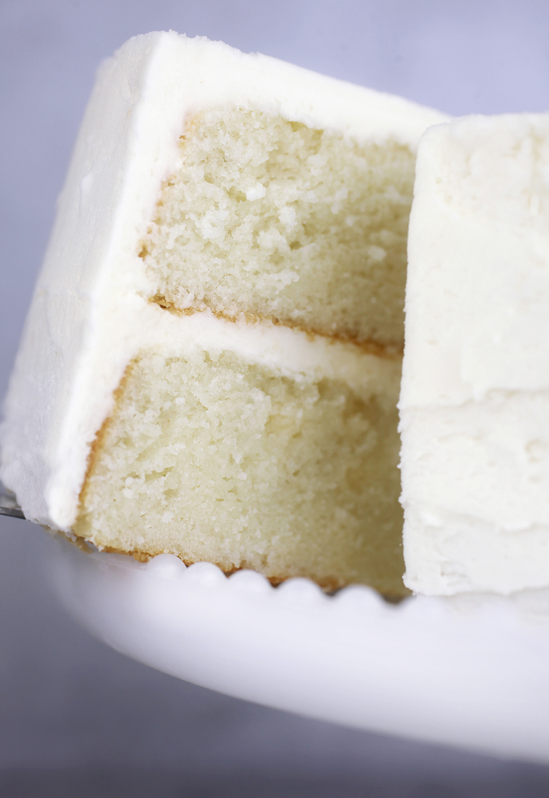 Everyday White Cake