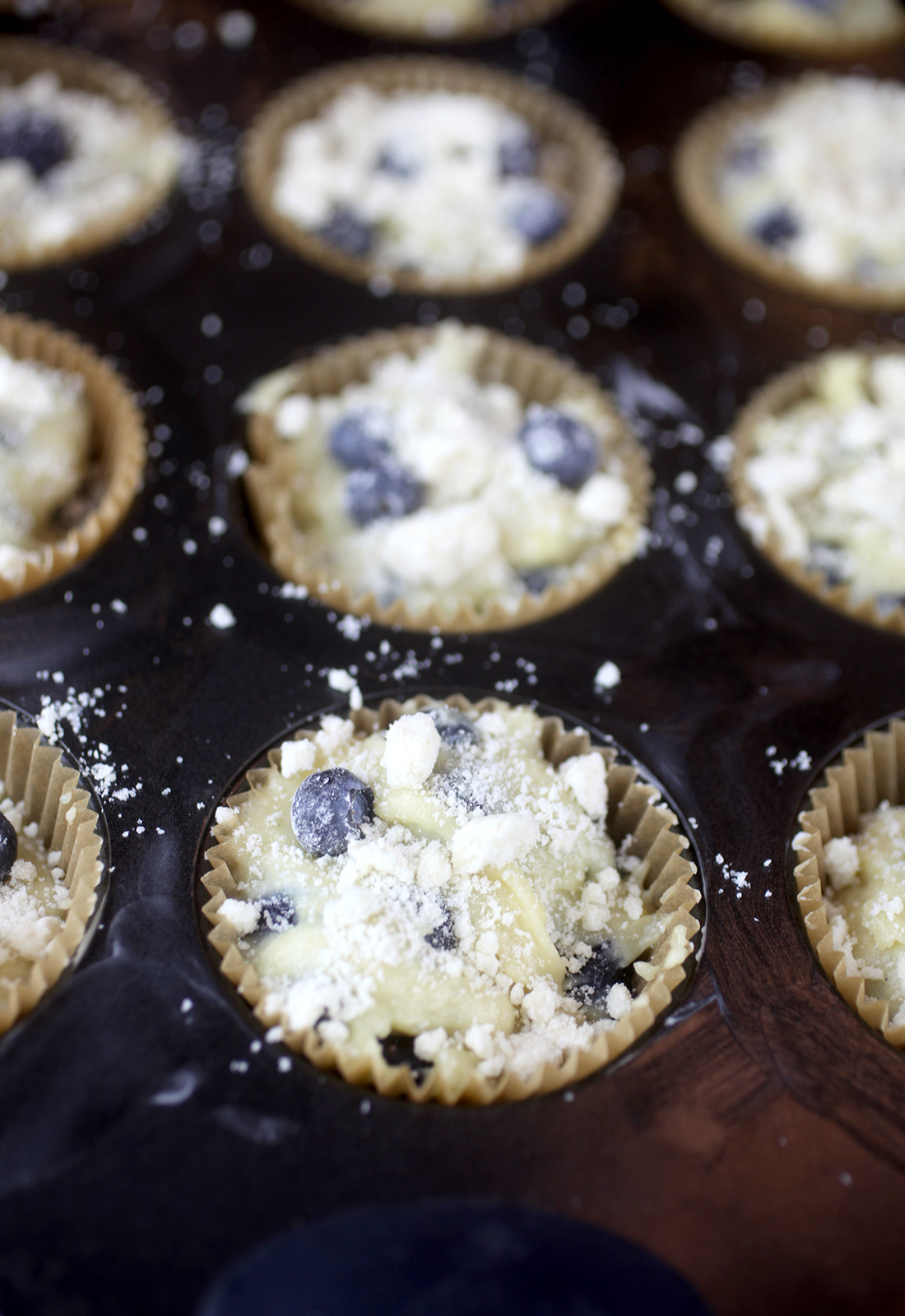Blueberry Muffins Batter