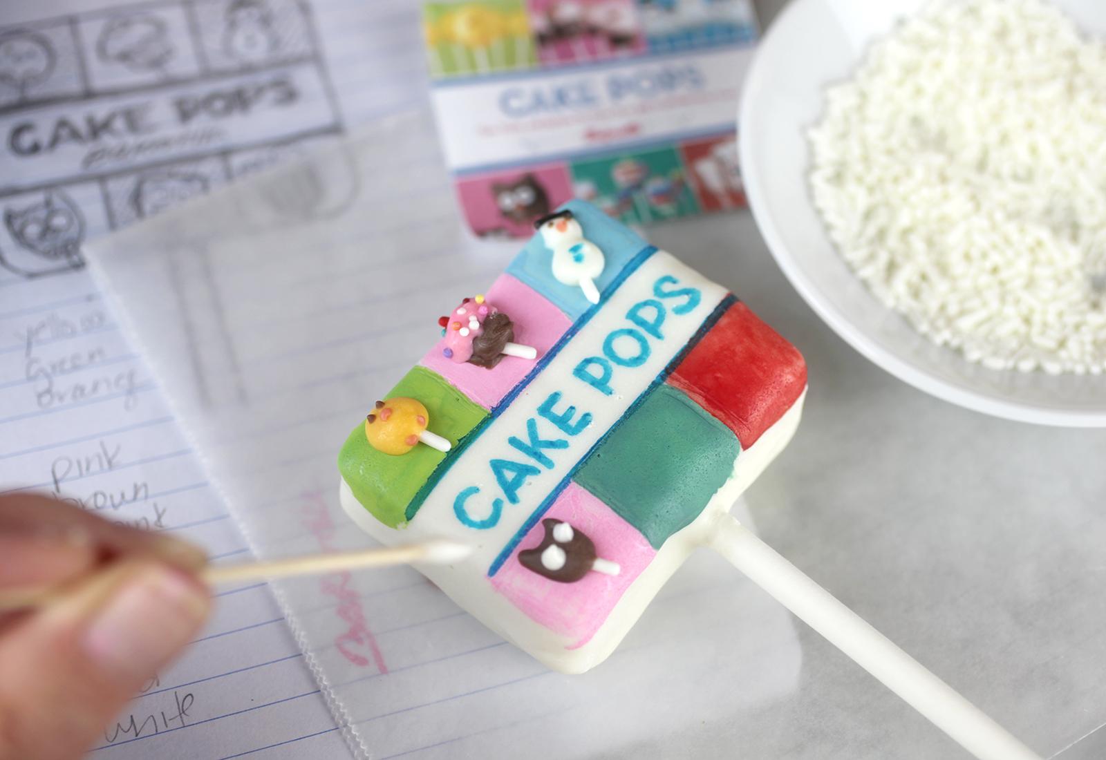 Tiny Cake Pops