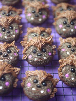 Howl Cute Werewolf Cookies