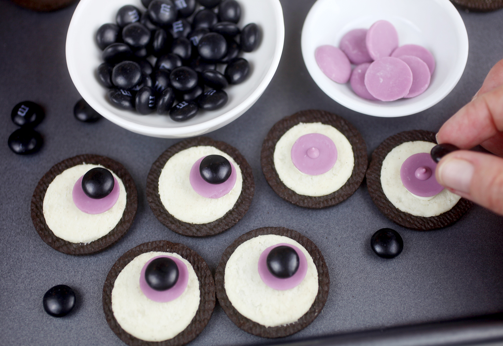 Oreo Cookie Eyes