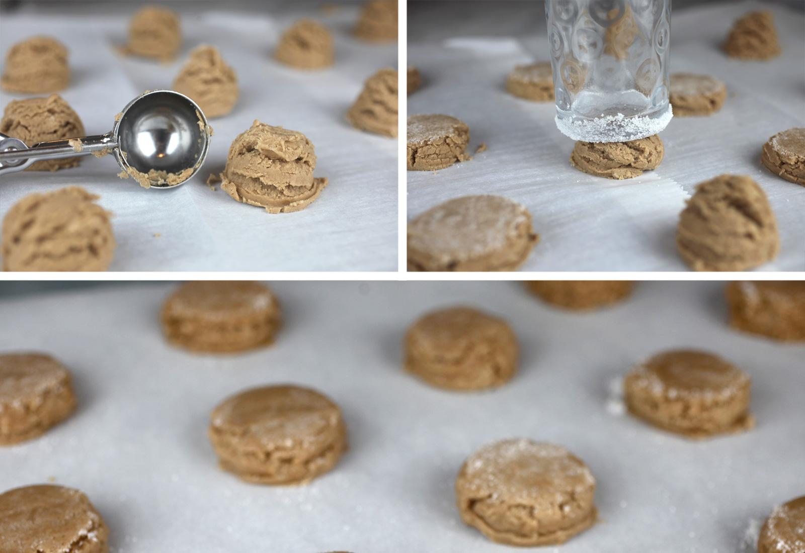Masa de galleta de azúcar con Nutella