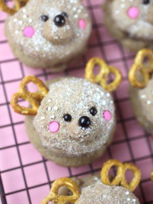 Darling Deer Sugar Cookies