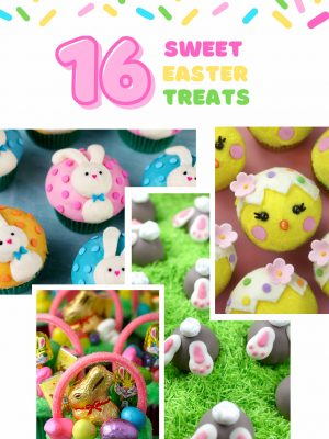 Easter Treats Collage