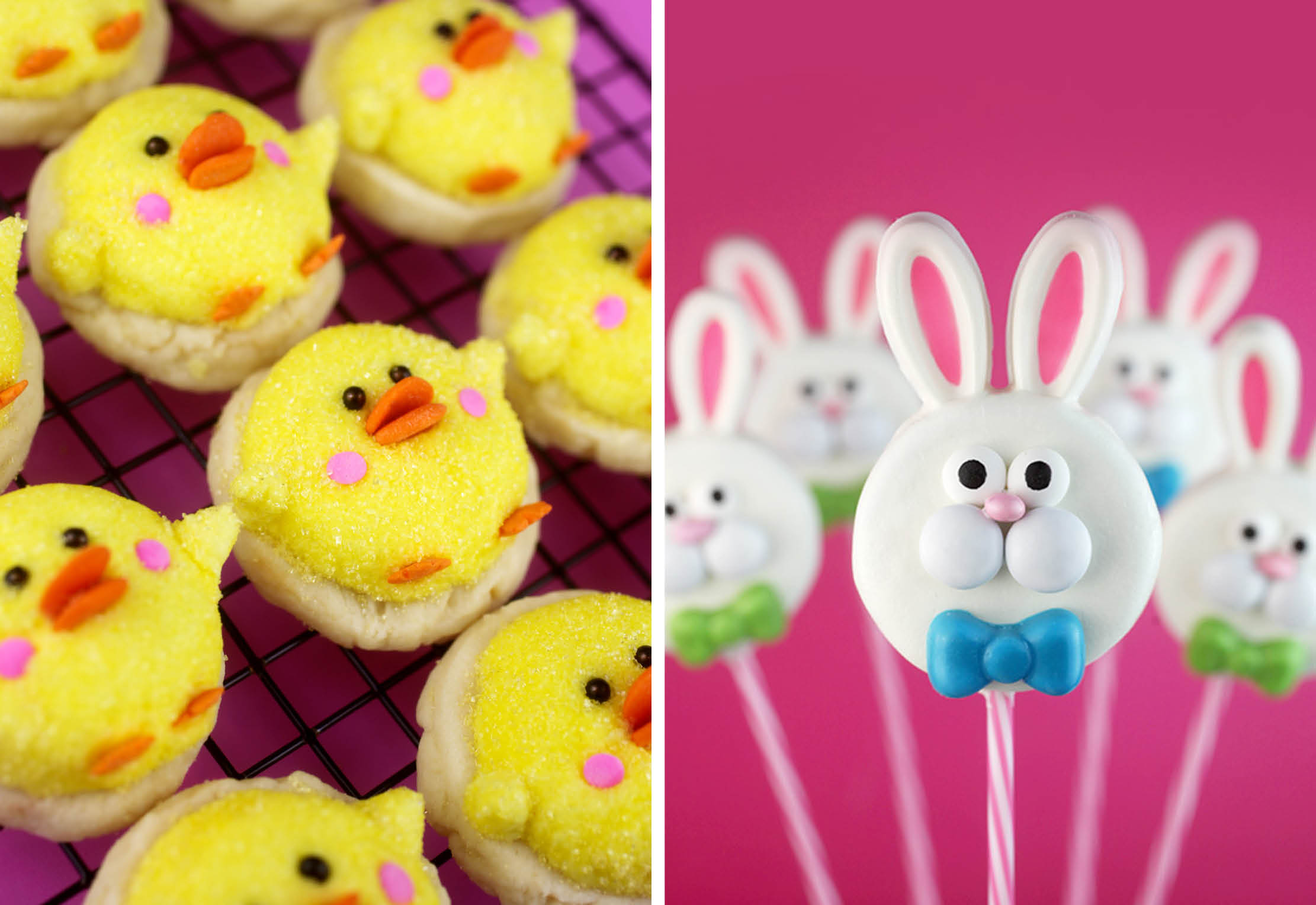 Duckling Cookies and Oreo Bunnies