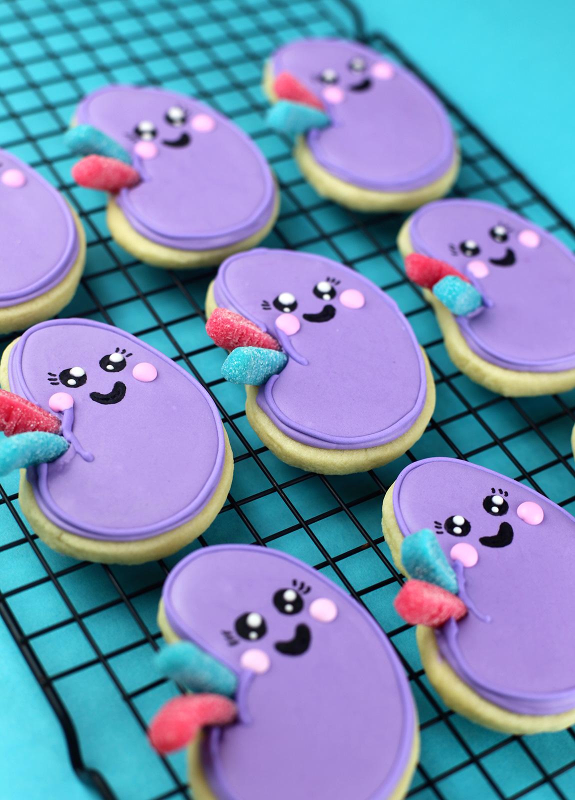 Kidney Sugar Cookies