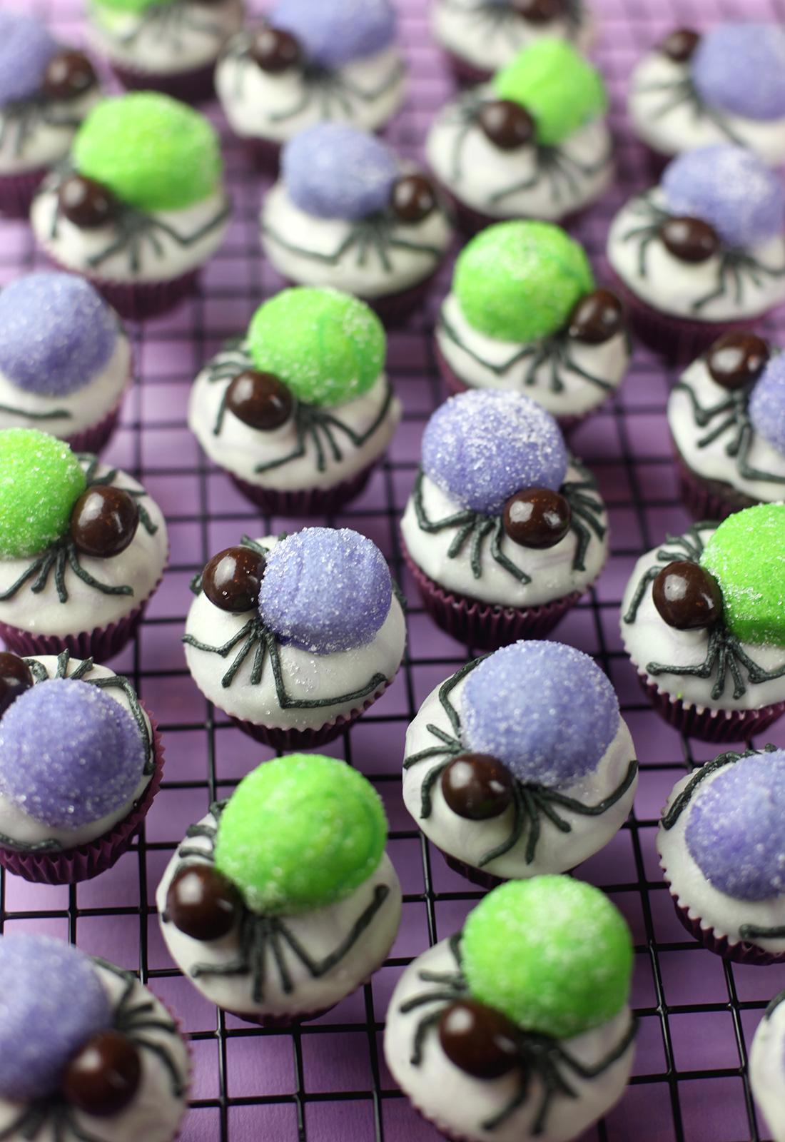 Spider Bites Mini Cupcakes