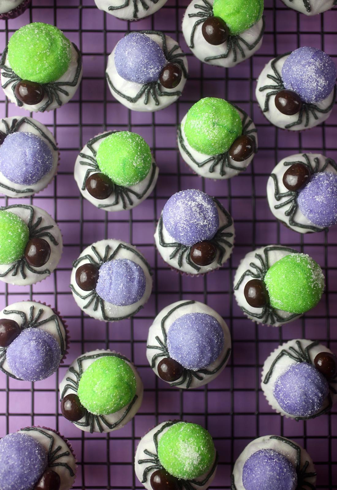 Spider Bites Cupcakes
