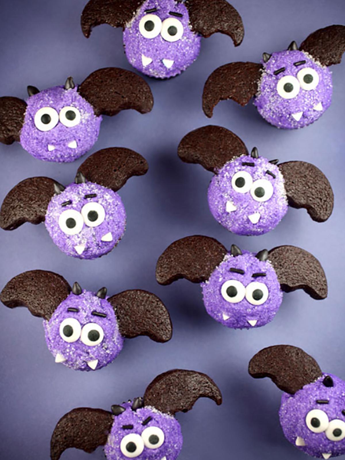 Bitty Bat Cupcakes
